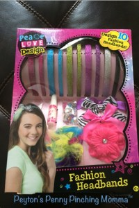 Create Your Own Headbands with Click n' Play Fashion Headband Kit