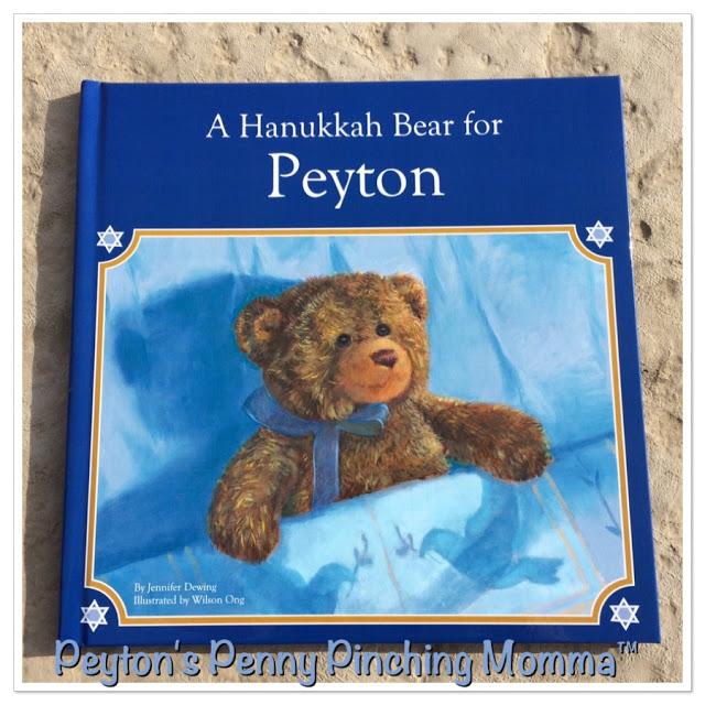 A Hanukkah Bear for Peyton by I SEE ME!