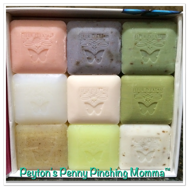 Fleur D'Extase Triple Milled All Natural Soaps