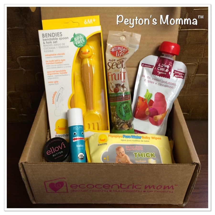 Ecocentric Mom and Baby box