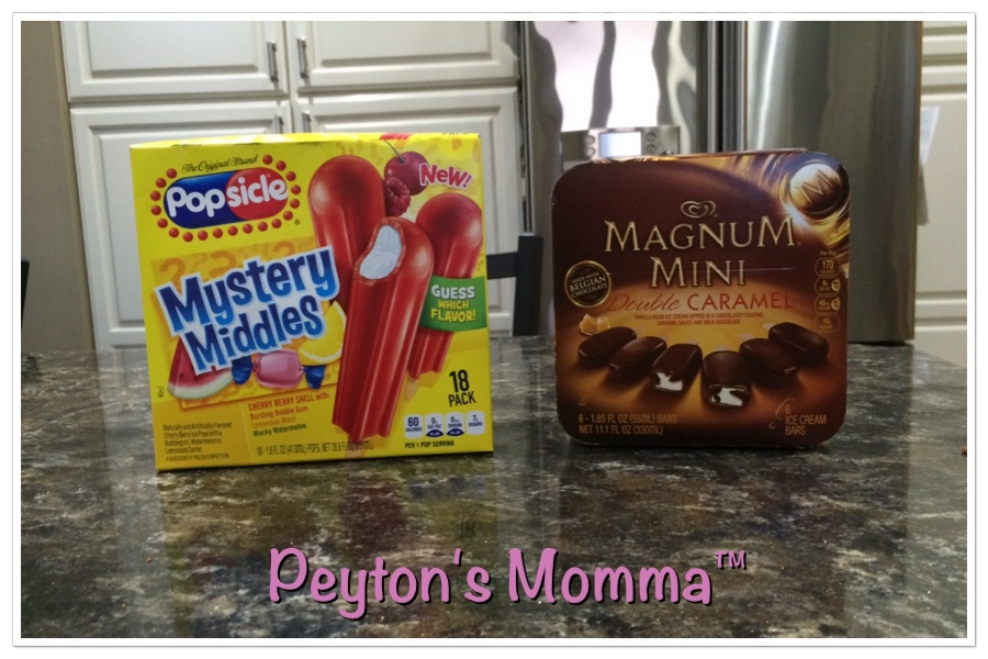 Mystery Popsicle and Magnum Minis