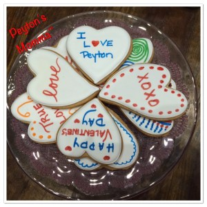 Eleni's New York Heart Shaped Color Me! Cookies