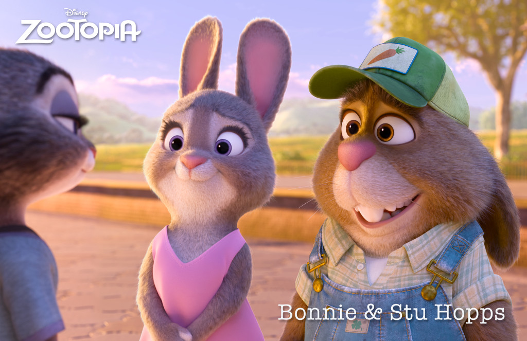Zootopia The Hopps Family