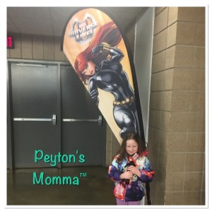 Peyton's Momma Black Widow Marvel Universe Live