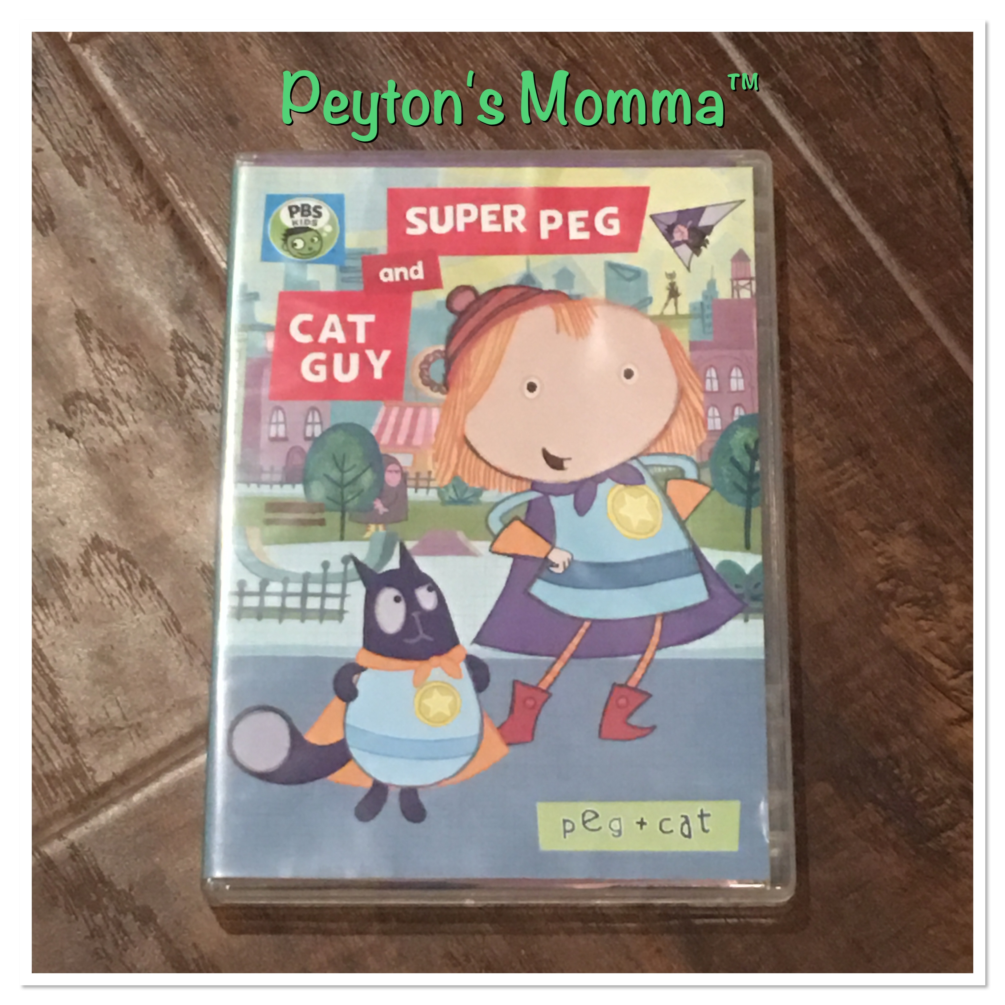 Cat and Peg Super Peg and Cat Guy