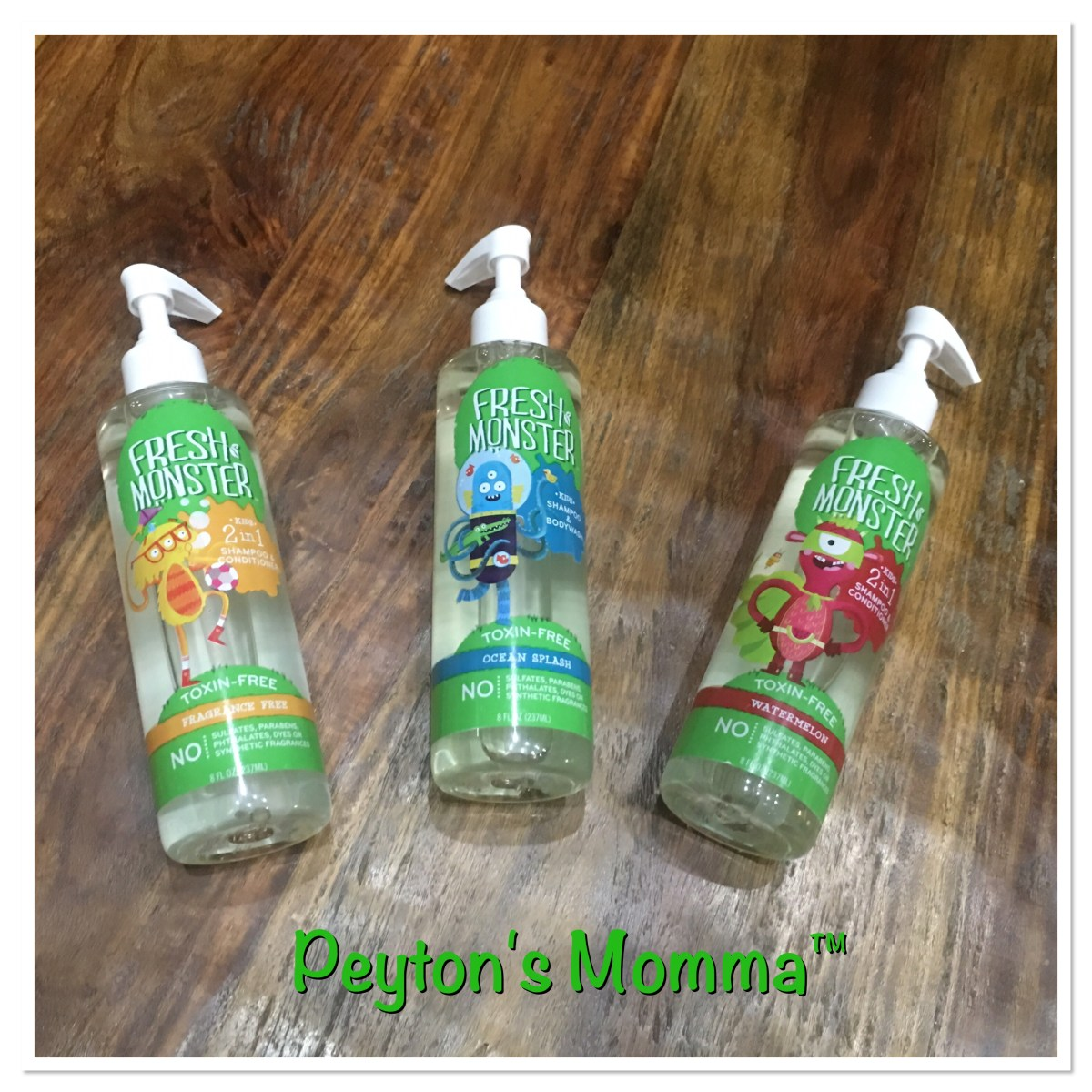 Fresh Monster Non Toxic Child Hair Products