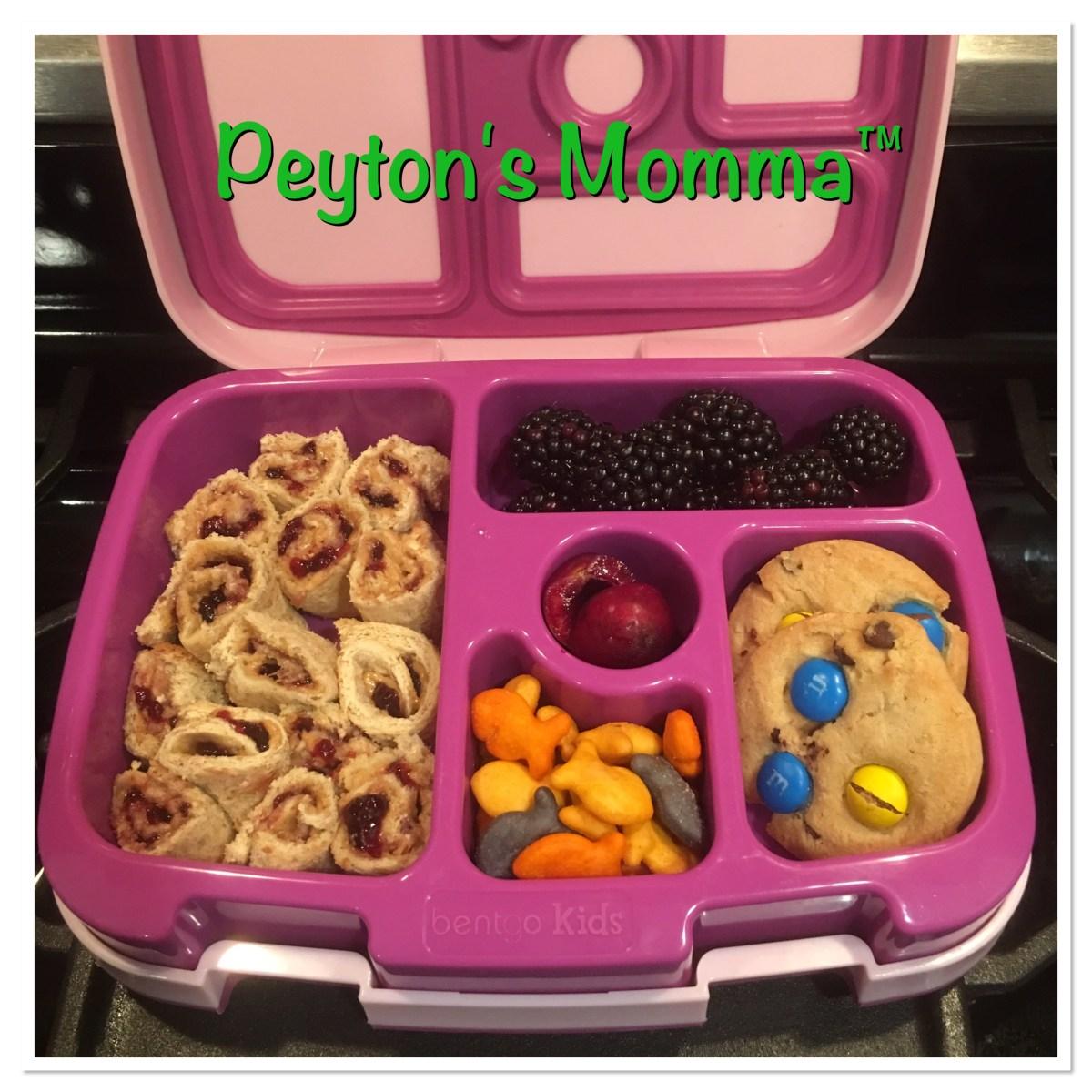 PB J Sushi Bento Box Lunch