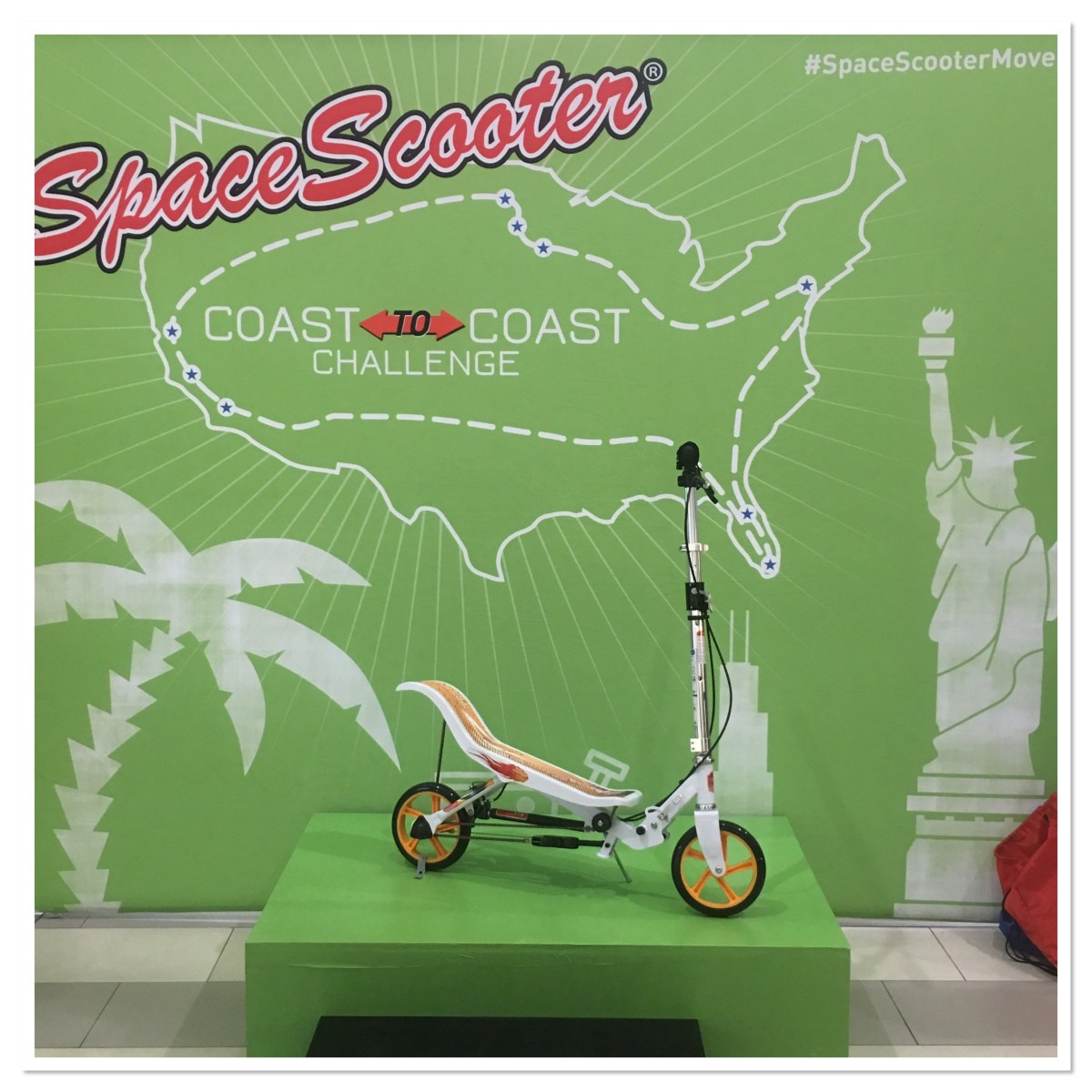 Space Scooter Movement
