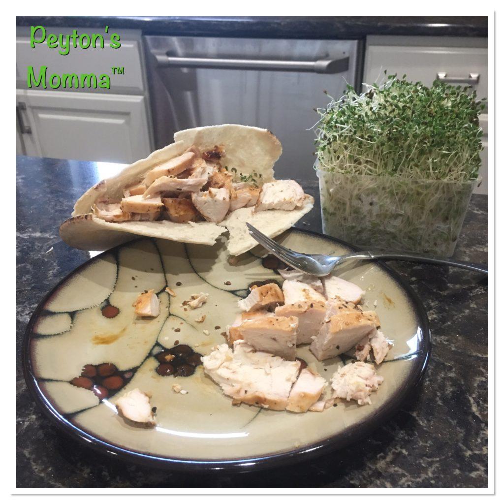 BFree Chicken Pita Sandwich