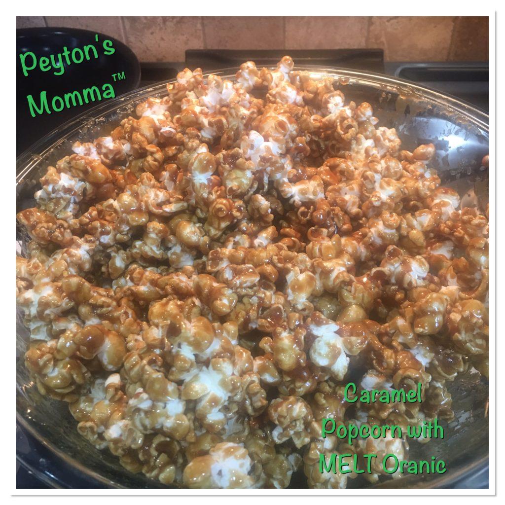 MELT Organics Caramel Popcorn