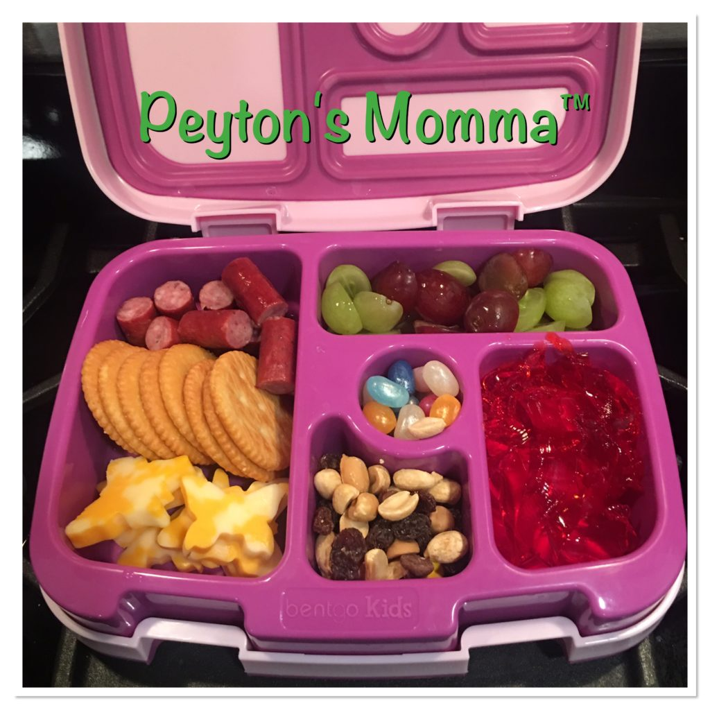 Butterfly Cheese and Cracker Bento Box