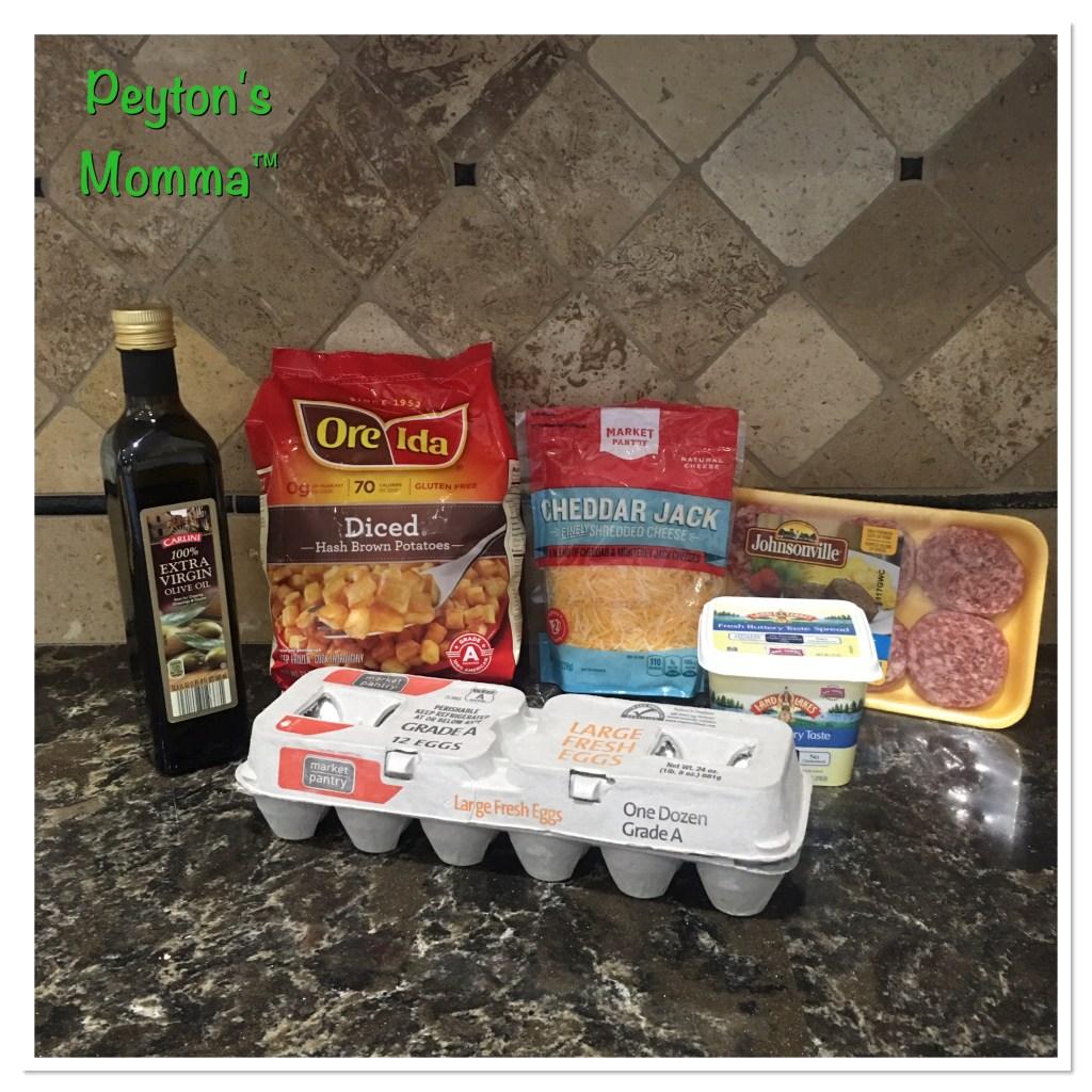 MasterPan Breakfast Ingredients