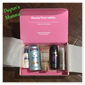 Walmart Beauty Box Summer 2016