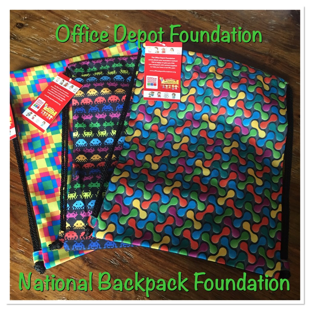 Office Depot Foundation Sackpack 2016
