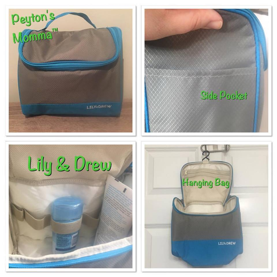 Blue Lily & Drew Bag