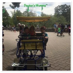 Family Fun at Fun Wheel Rentals