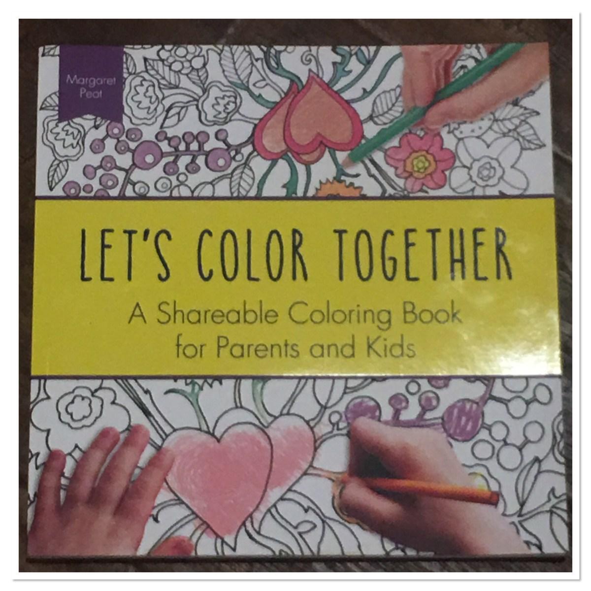 Let's Color Together published by Sourebook