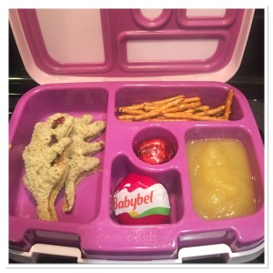 Kids Bento Box Fall Lunch Idea