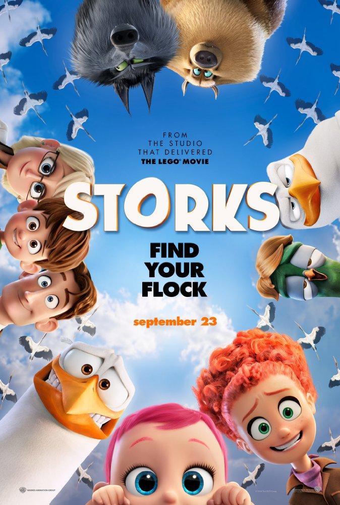 Storks Warner Brothers