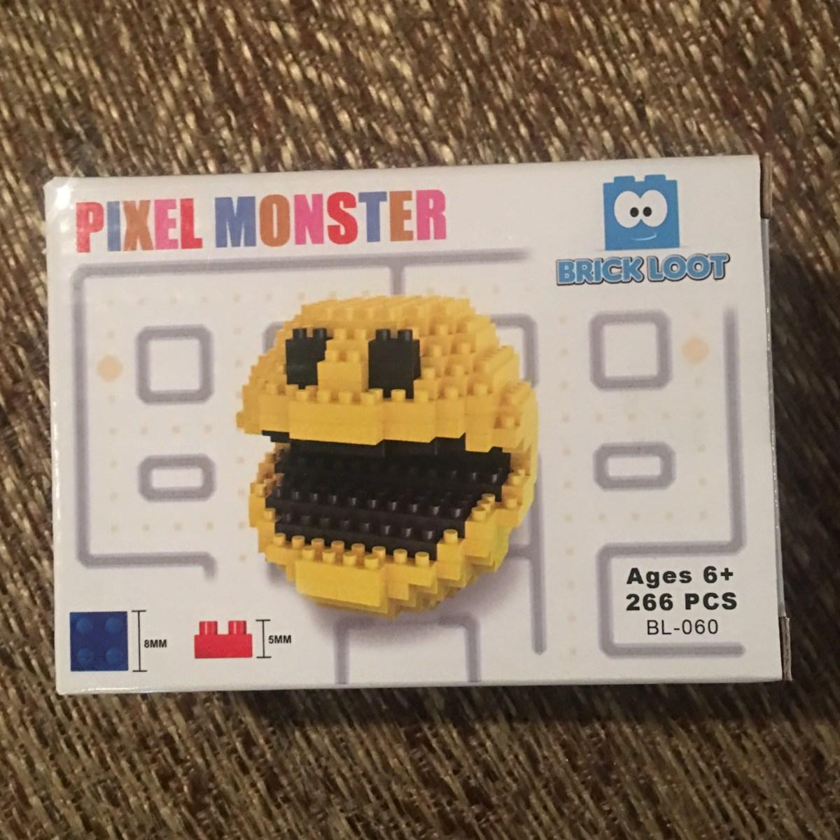 Brick Loot October Box Pixel Monster