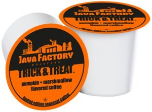 Enter to Win Java Factory Roasters Trick and Treat K Cups