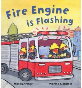 Fire Engine is Flashing