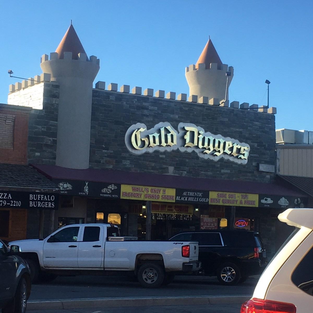 Gold Diggers Wall Drug South Dakota