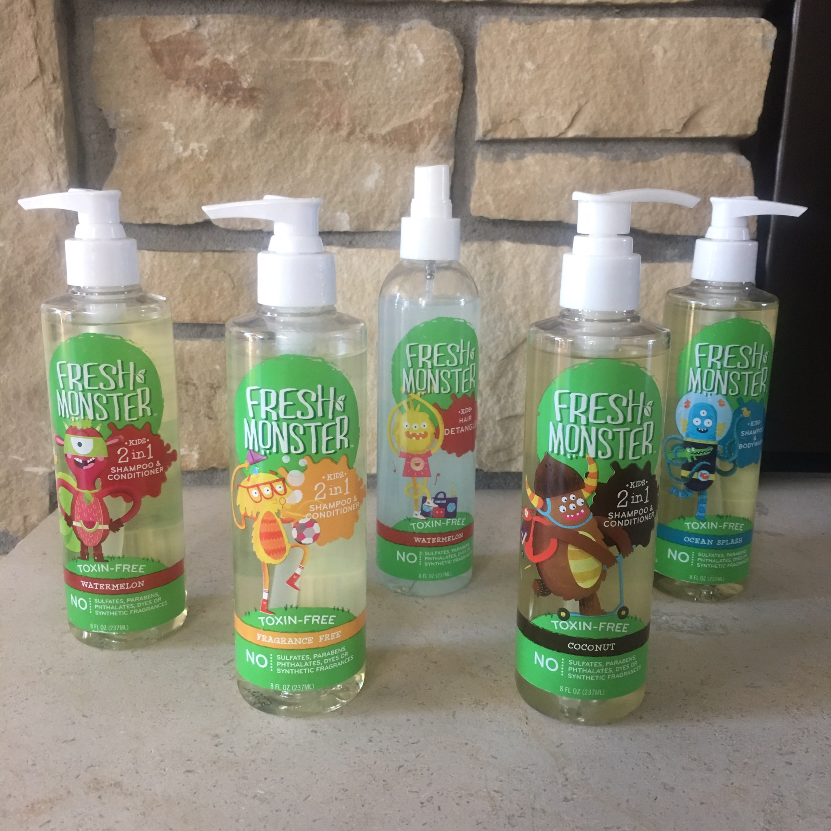 Fresh Monster Children Hair Care