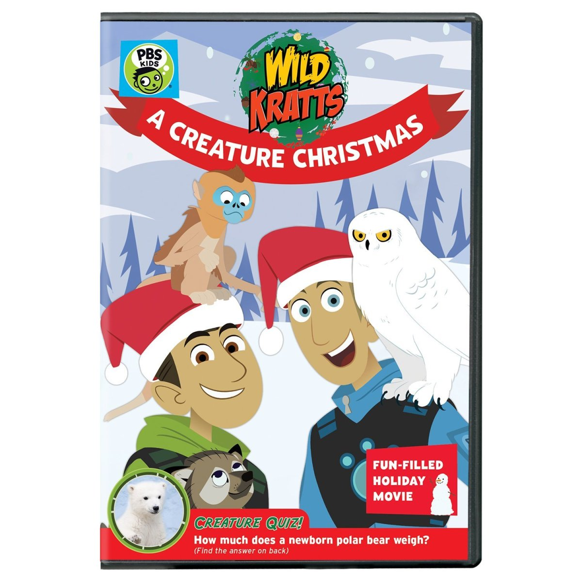 Wild Kratts a Creature Christmas PBS Kids