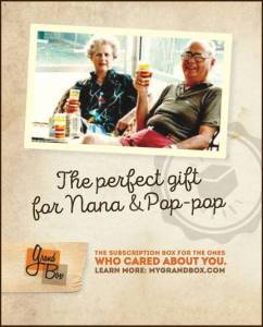 The Perfect Gift for Grandma and Grandpa – Grandbox! Discount on Your First Purchase