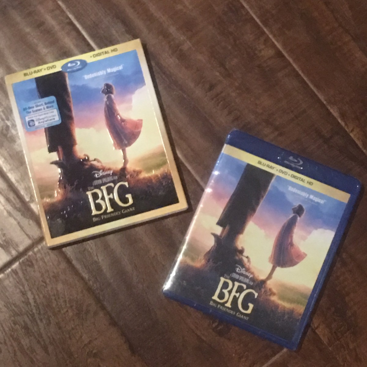 The BFG on Blue Ray