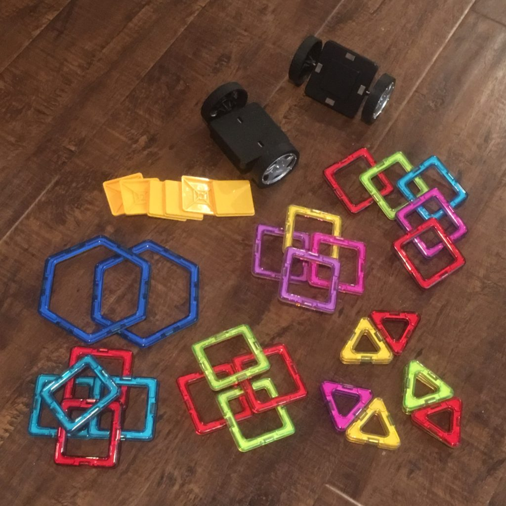 40 piece magnetic blocks by 4Dblock