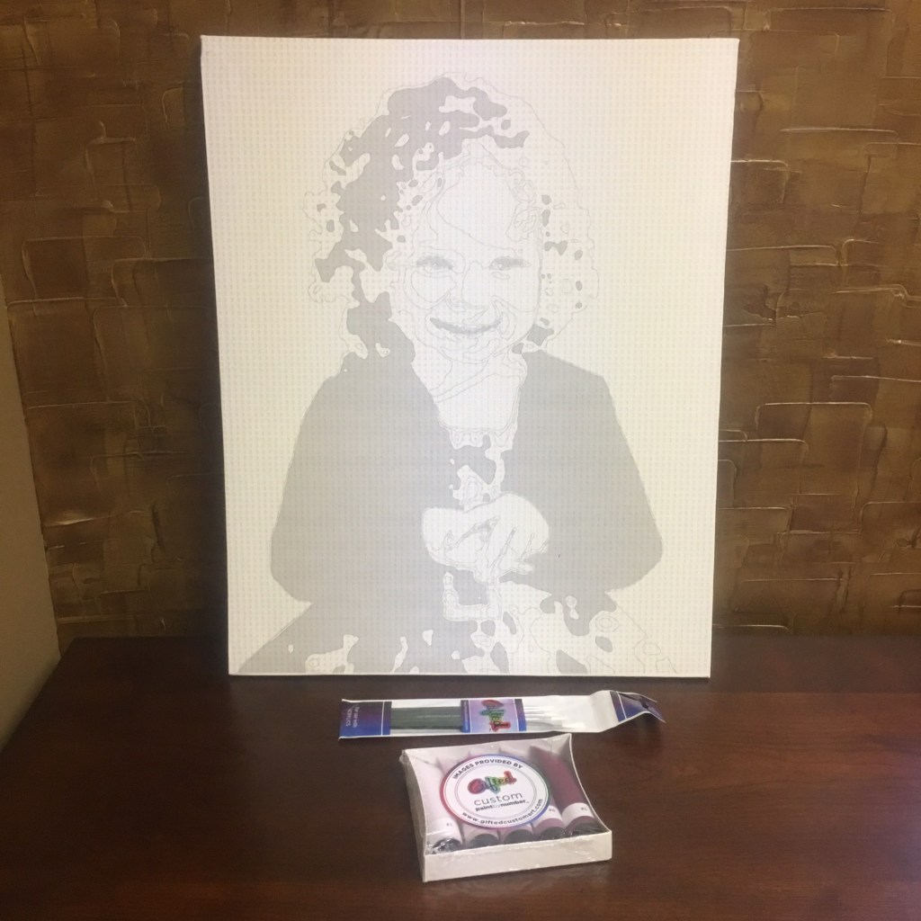 Paint by Numbers Gifted Custom Art