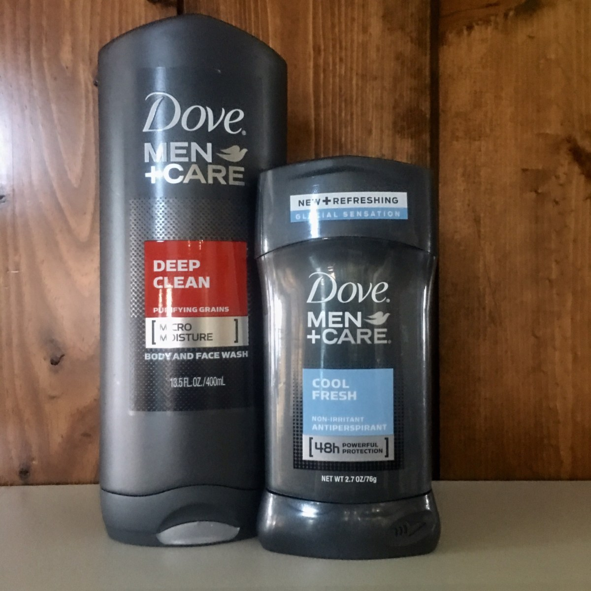 Dove Men Care Cleansing Wash and Deoderant