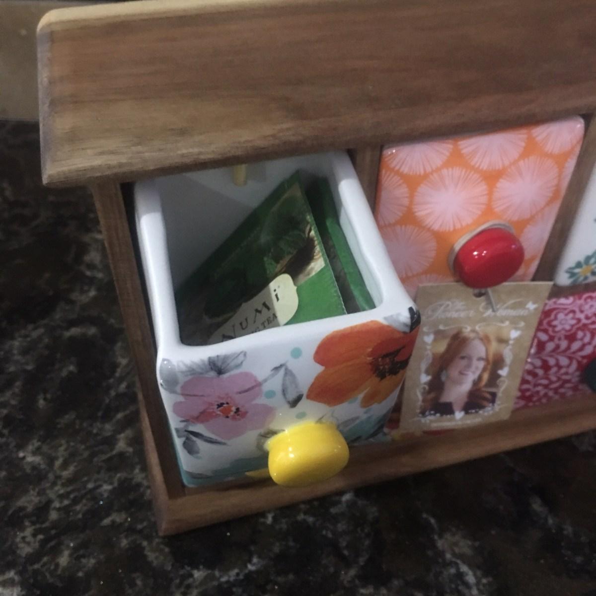 Pioneer Woman Flea Market Tea Box