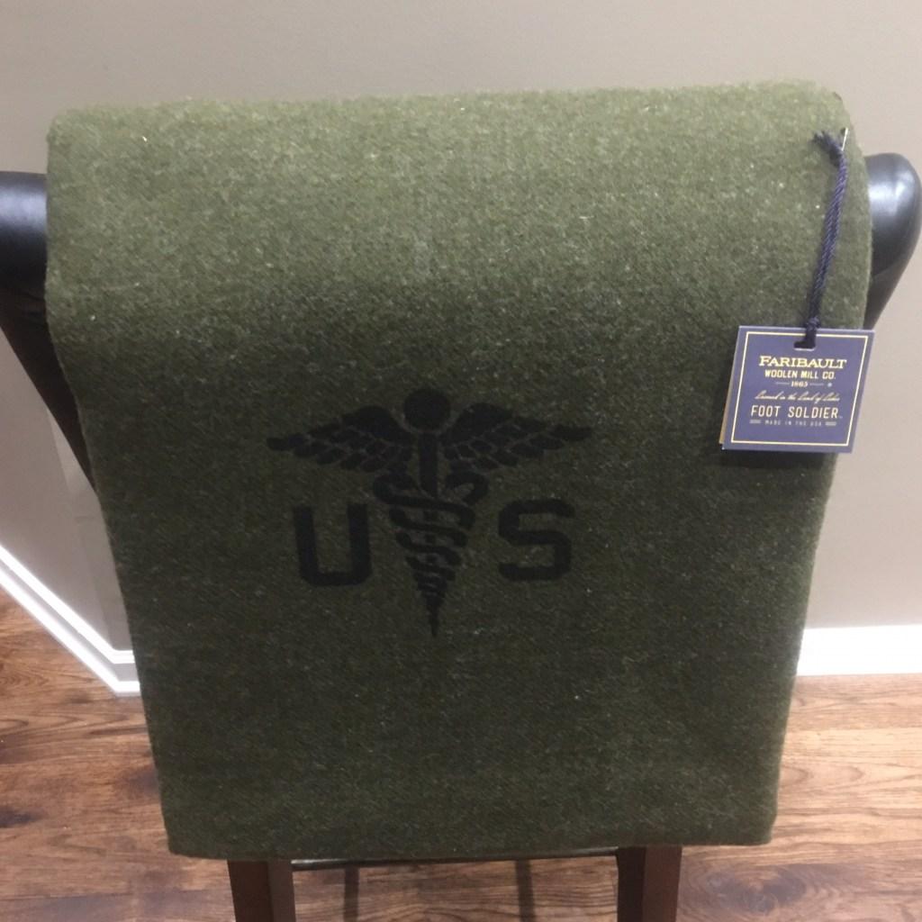 Army Medic Blanket