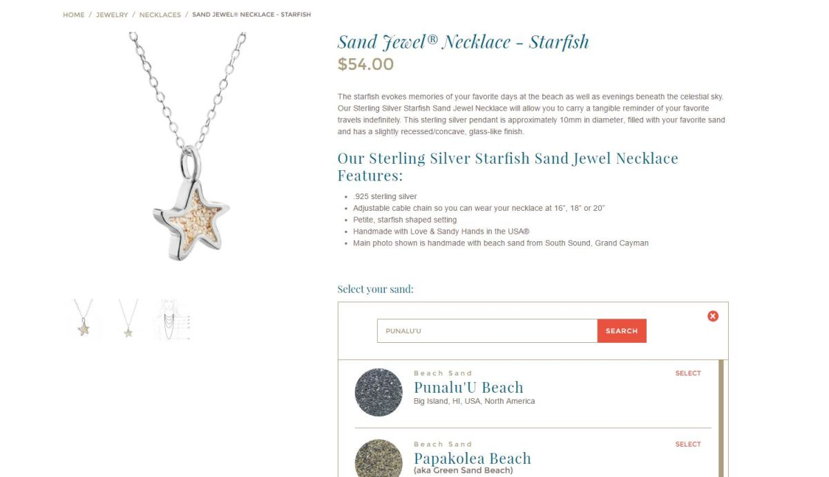 Dune Jewelry Star Fish