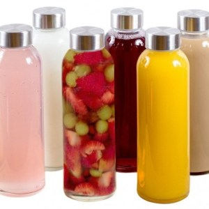 Breifton Glass Water Bottles