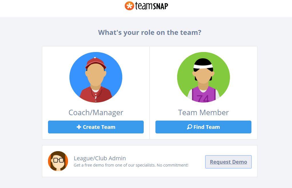 TeamSnap Sign Up PTA