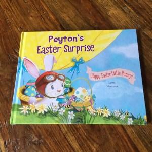 Peyton's Easter Surprise