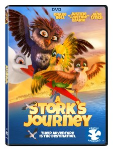 A STORK JOURNEY 3d DVD