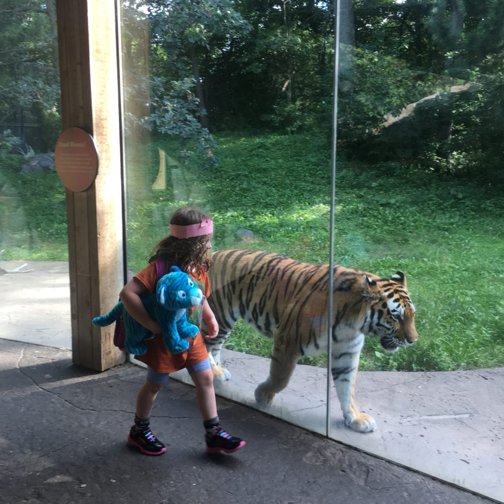Peyton at the Zoo