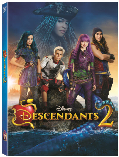 Descendants 2 box art