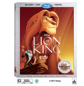 Lion King Coming to Blu Ray in August