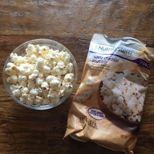 Nutrisystem White Cheddar Popcorn