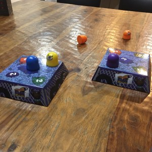 Family Game Night: Bouncing Bots