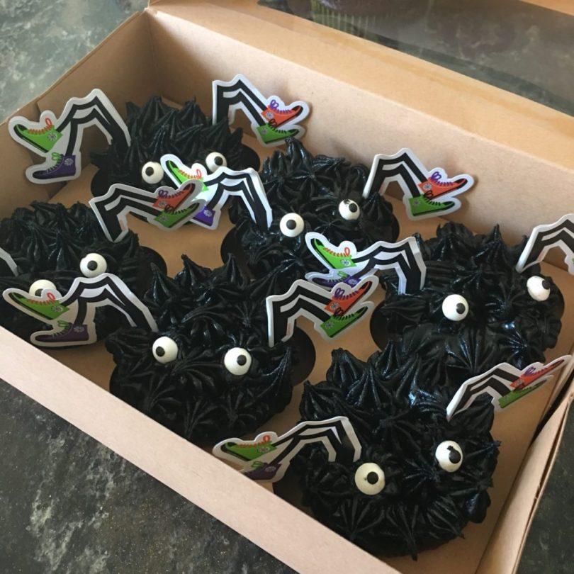 Wilton Spider Cupcakes