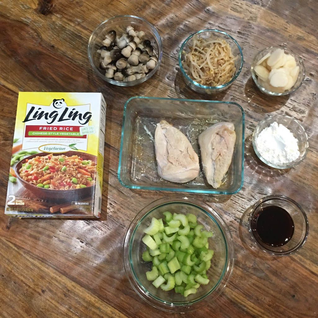 Easy Chicken Chow Mein Dinner with Ling Ling Fried Rice
