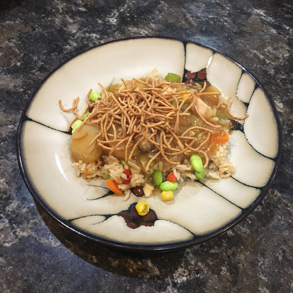 Easy Chicken Chow Mein Dinner