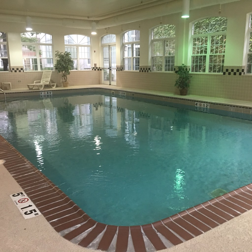 Pool at Country Inn and Suites
